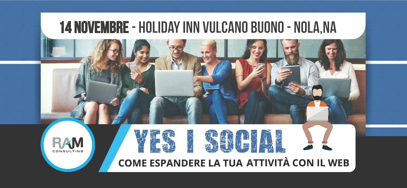 "In arrivo ""Yes, I Social"""