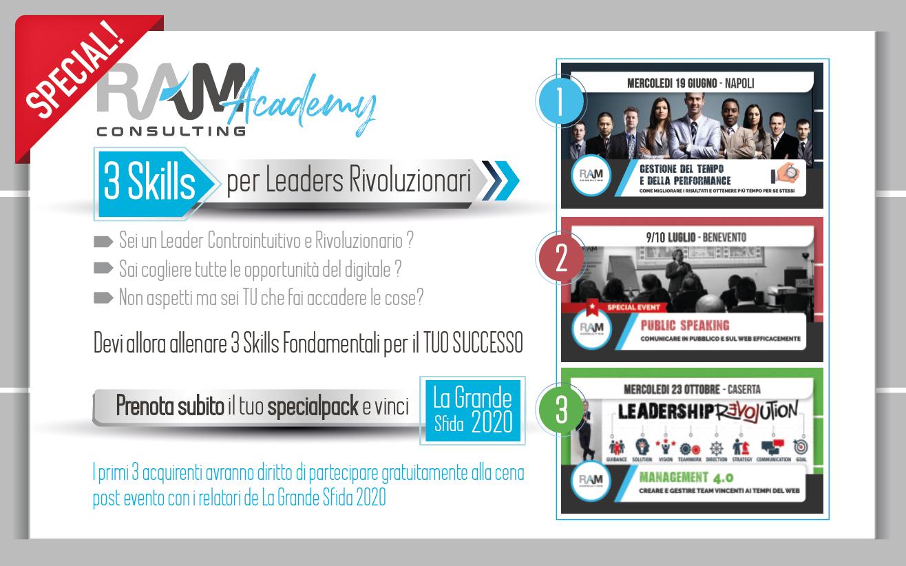 3 Skills per diventare un Leader Rivoluzionario