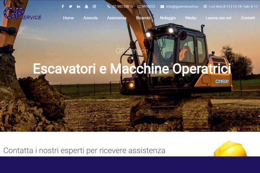 Online il nuovo sito GP Service