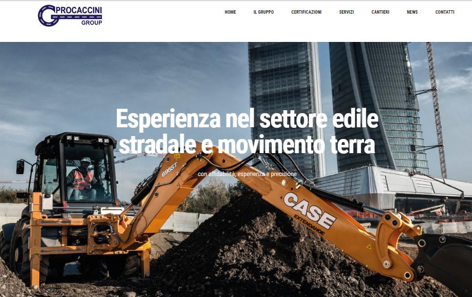 Online il nuovo sito web di Procaccini Group